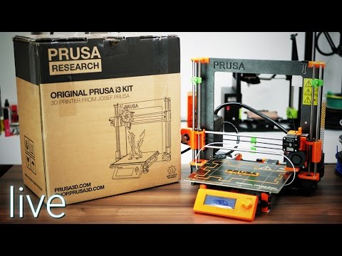 [Part 2] Genuine i3 MK2 unboxing & live build - the real deal from Josef Prusa!