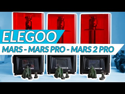 Elegoo Mars (2 Pro): Which one is the best resin printer?