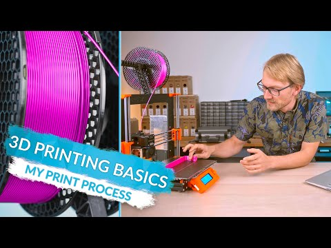 3D Printing Basics: What Printing actually looks like! (Ep7)