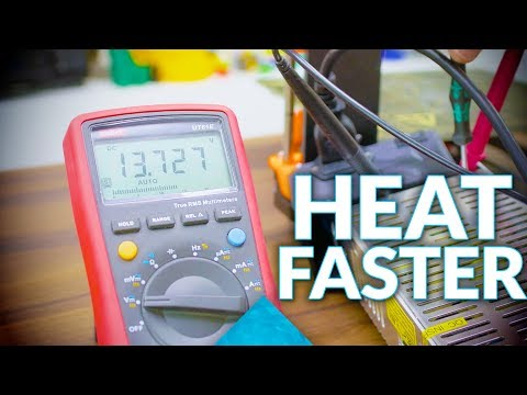 How to get your 3D printer hot - faster (and for free!)