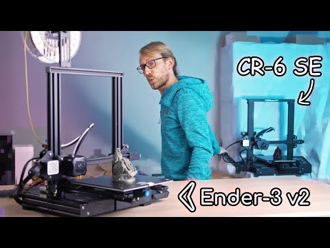 Why you should get the Ender-3 v2 instead of the CR-6 SE!