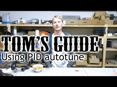 3D printing guides - Using Marlin's PID autotune