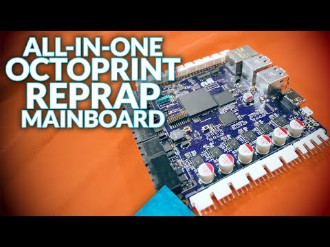 """Run your 3D printer with only this Octoprint-based mainboard! """"Revolve"""" at #MRRF2018"""
