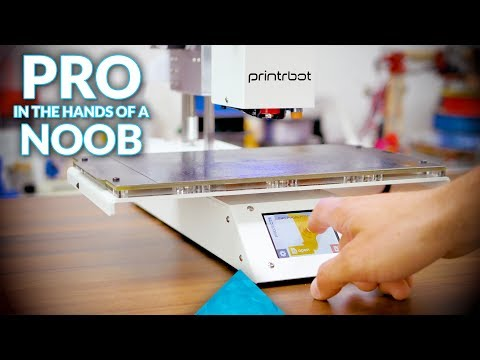 Printrbot Simple Pro review from a Pro's and Newbie's perspective!
