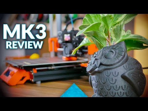The most important 3D printer - Original Prusa i3 MK3 review!