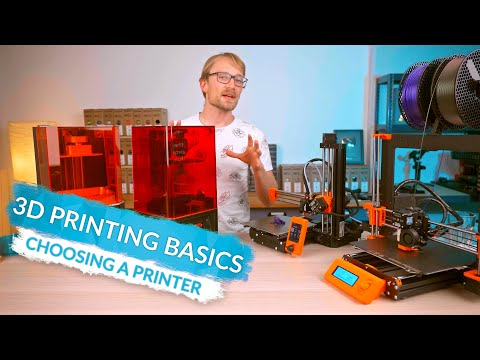 3D Printing Basics: Choosing a printer! (Ep2)