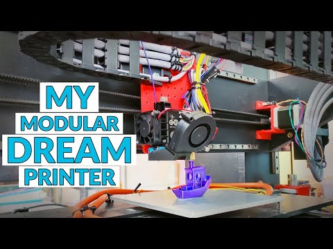 This 3D printer can use ANY components - ultimate machine for parts testing!