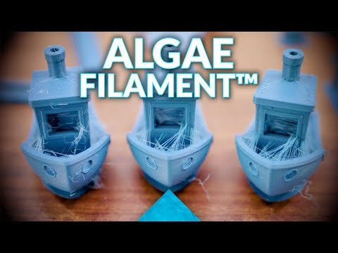 Algae Filament™ from Algix-3D: The next PLA replacement? #Filaween2