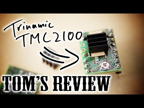Honest pre-review: The all-new Trinamic TMC2100 stepper drivers!