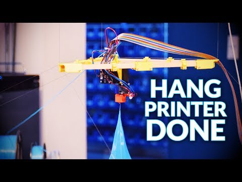 Building the Hangprinter: What we would do differently!
