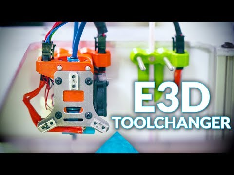 The E3D MegaVolcano, Toolchanger and other shenanigans #MRRF2018