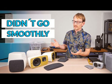 DIY 5.1 Surround speakers - a learning opportunity! #3DPrinting