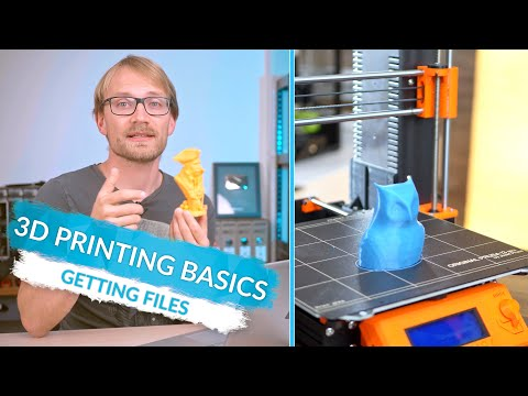 3D Printing Basics: Where to get printable models! (Ep5)