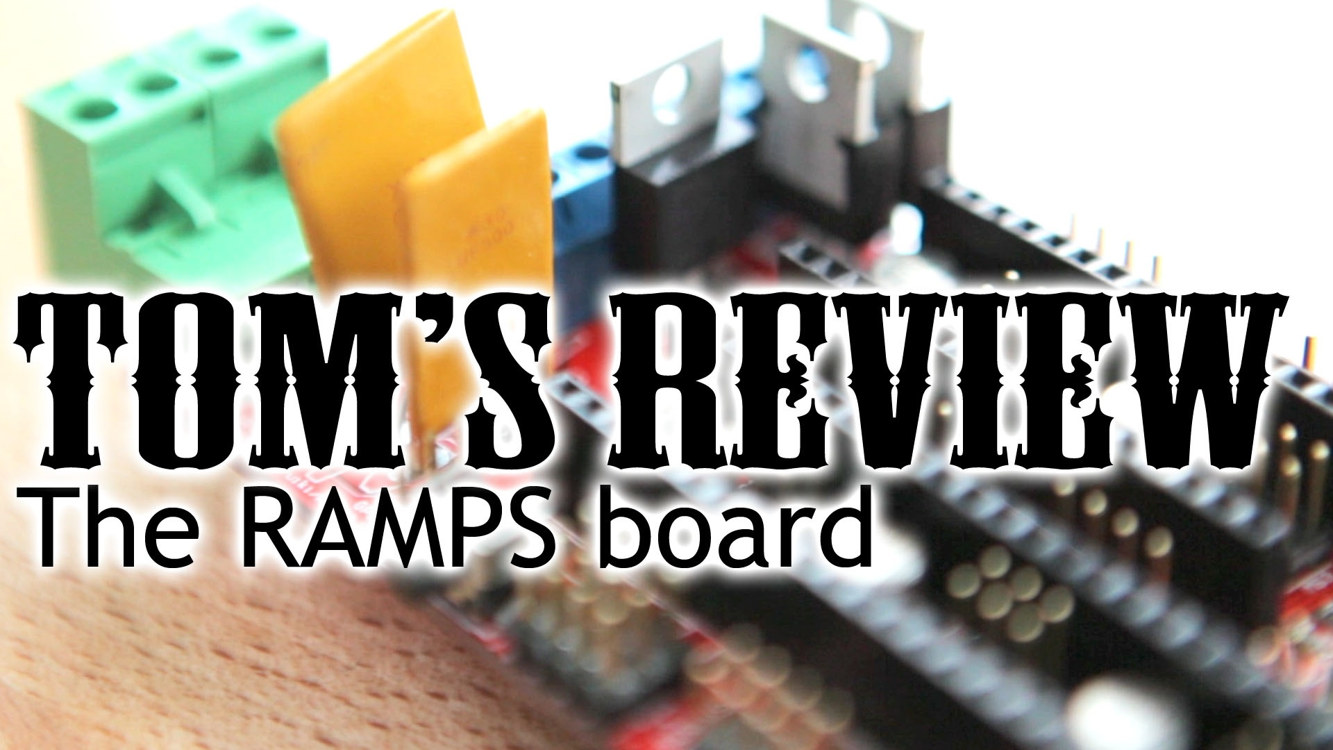 Honest Review The Ramps Board Toms 3d Printing Guides And Reviews Printed Circuit Fuse Holders