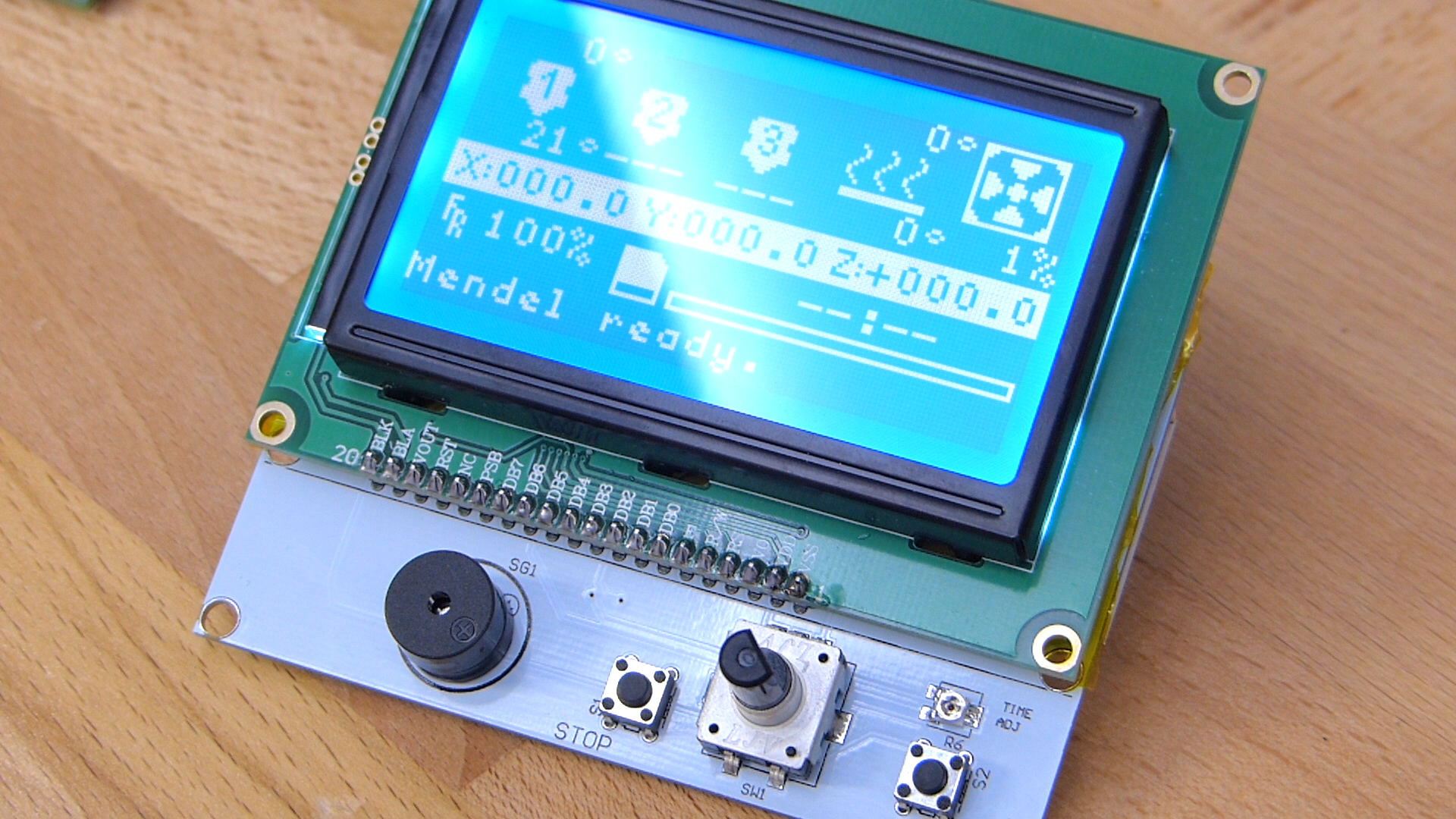 Setting up a LCD and SD card controller panel – Tom's 3D printing
