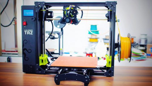 Review: The Lulzbot TAZ 6 - #OpenIsDefault for the win?