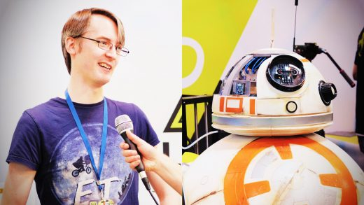 TCT: James Bruton's third BB8 and his creative process for it!