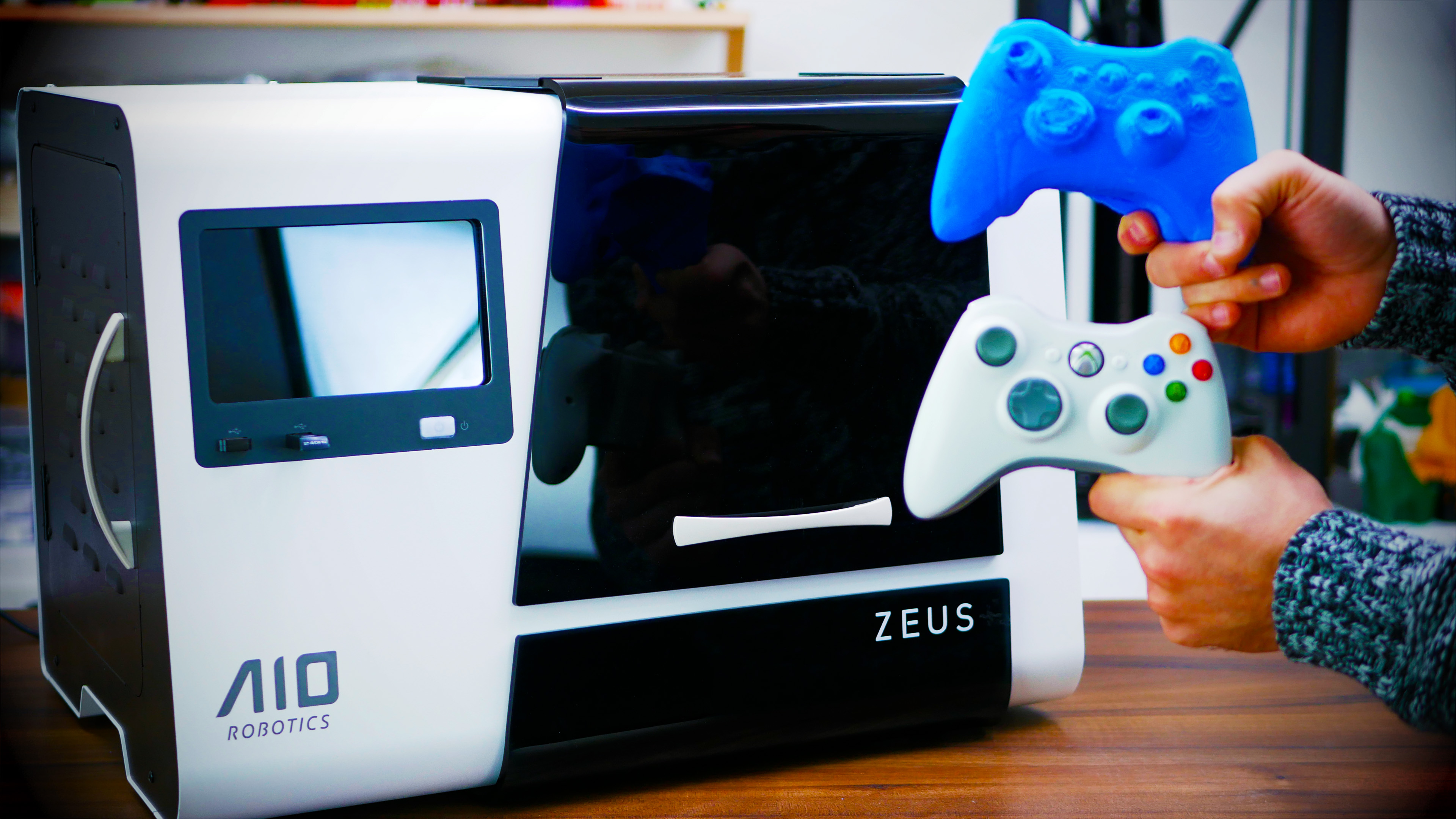 3d Scanner Printer And Copier Aio Robotics Zeus Review Toms
