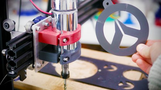 CNC mill built from a 3D Printer!