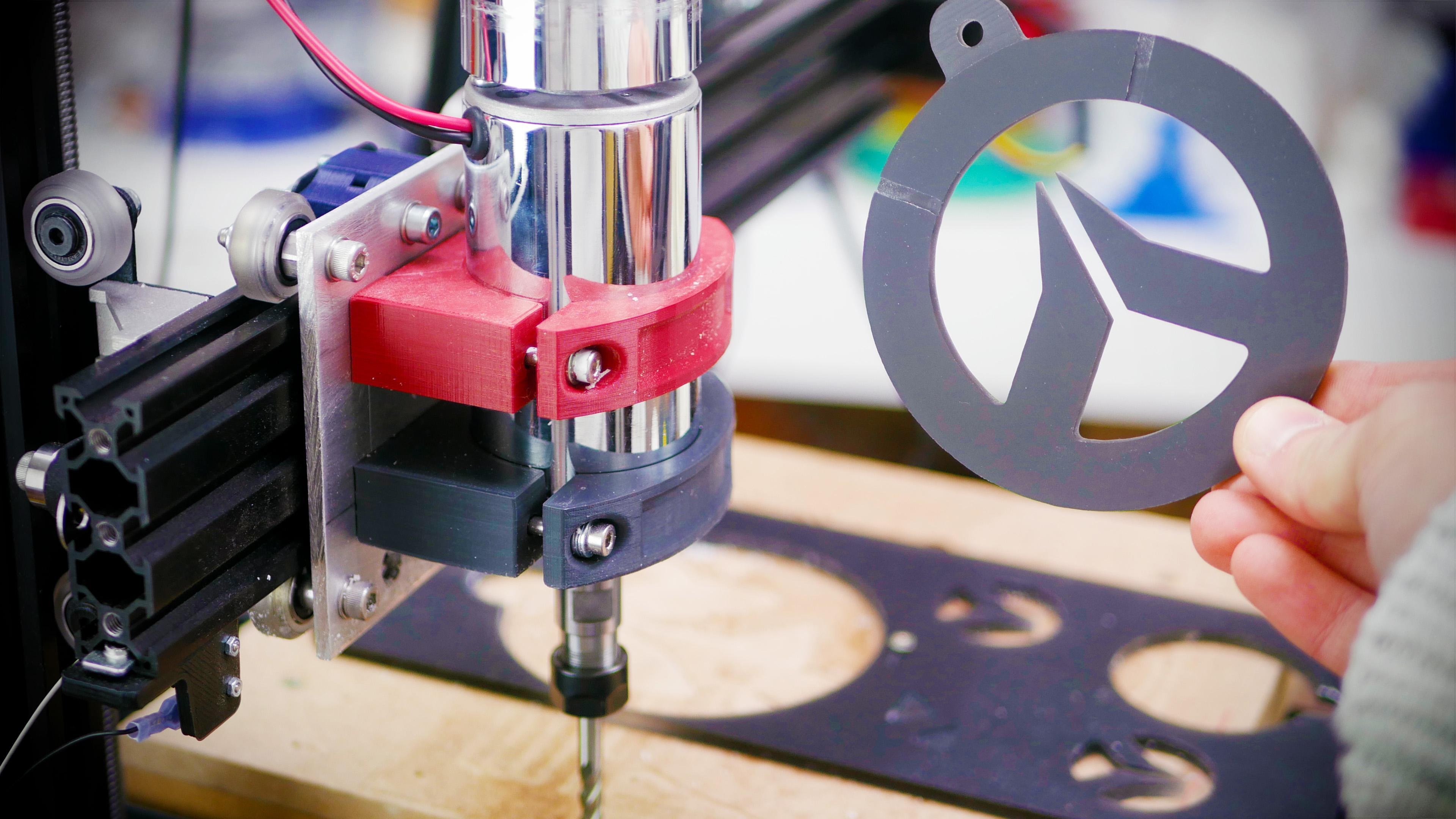 CNC mill built from a 3D Printer! – Tom's 3D printing guides