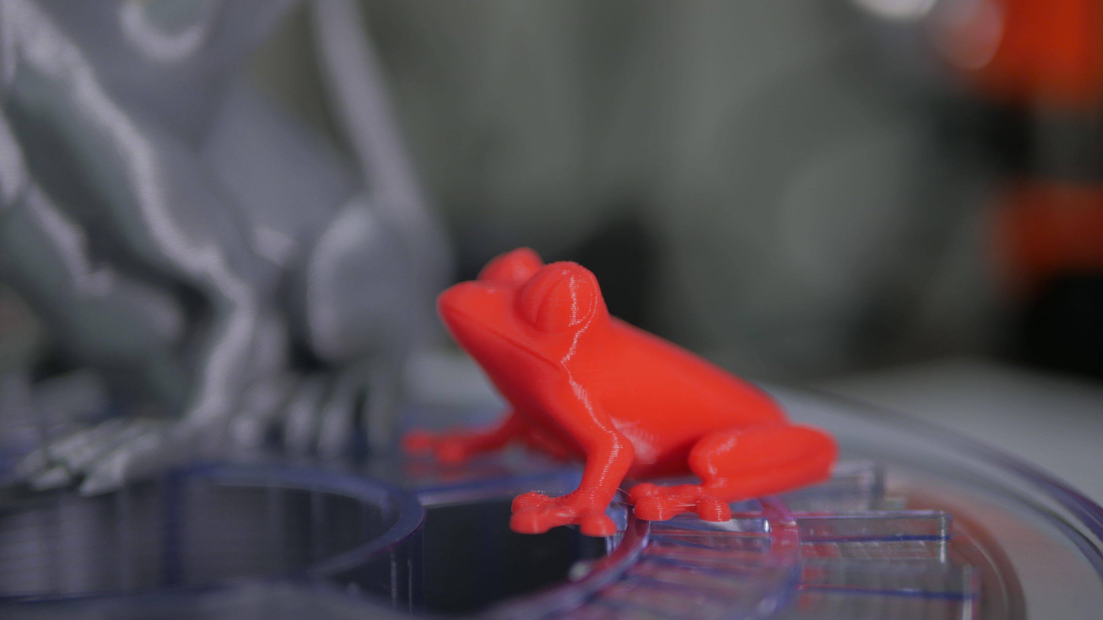 3D printed treefrog