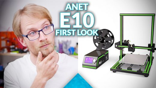 Attack of the 复制: Anet E10 live unboxing, assembly and first print!