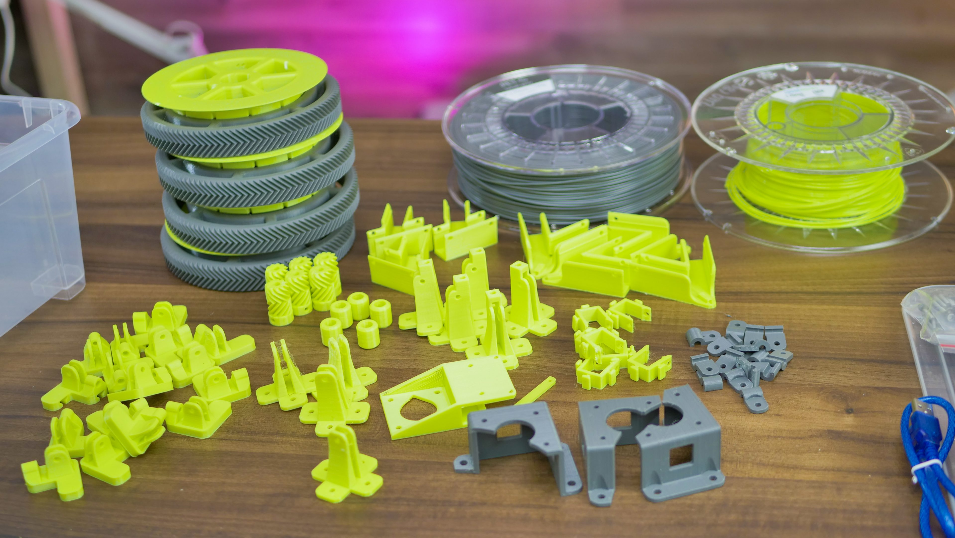 Printed parts for the Hangprinter