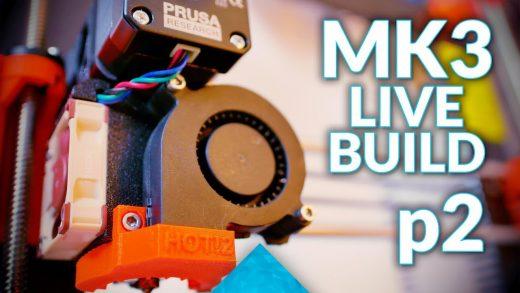 Prusa Mk3 Live Build