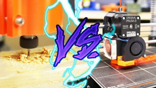 CNC vs 3dPrinter