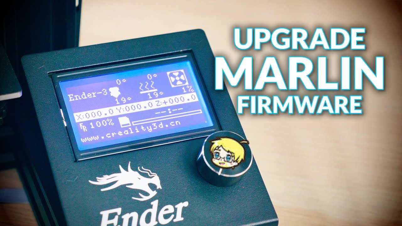 Easily upgrade the Marlin firmware on your kit 3D printer!