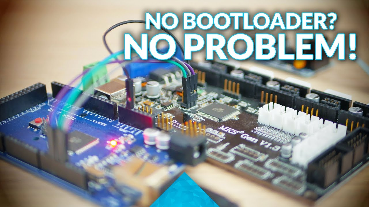Update your 3D printer firmware without a bootloader!