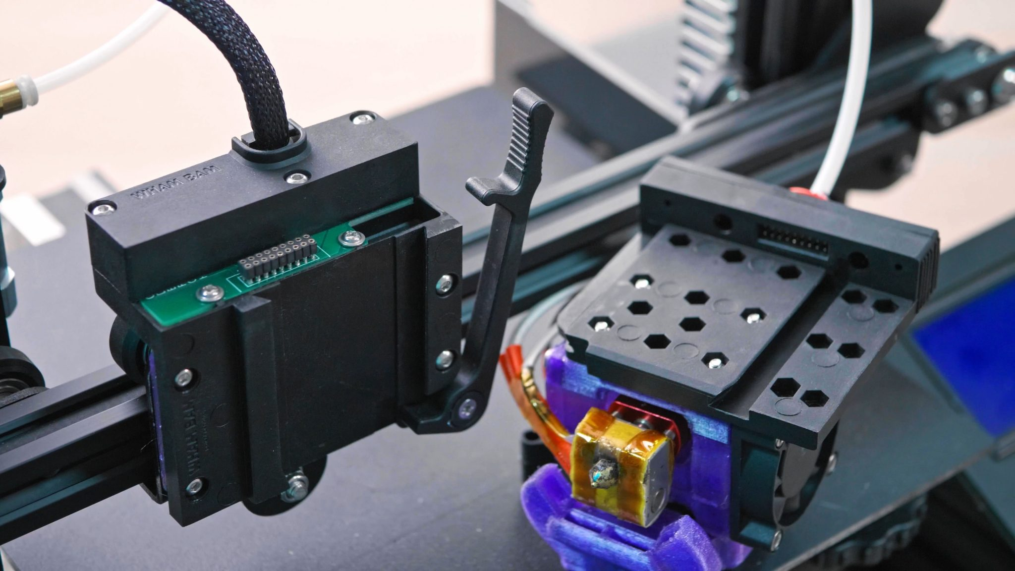 WhamBam Mutant: A Quick-Change Toolhead Upgrade for any 3D Printer! (NOT on Kickstarter)
